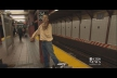Juilliard violinist chooses subway as his stage