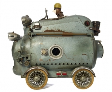 >Steampunk Sculptures by Stephane Halleux