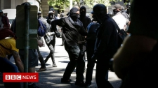>Portland braced for far-right rally and antifa counter-demo