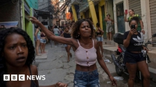 >Brazil violence: Rio police accused by residents of abuses in raid