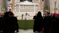 >Pope cautions against 'unfair' Middle East peace plans