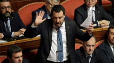 >Italy judge weighs Salvini trial for 2019 migrant standoff