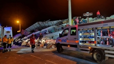 >Death toll stands at 22 in Turkish earthquake; 1,000 hurt