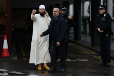 >Man arrested after muezzin stabbed inside London mosque