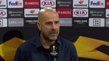 >Bosz over de kansen van Leverkusen in de Europa League