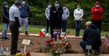 >Four Months After First Case, U.S. Death Toll Passes 100,000