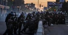 >Facing Protests Over Use of Force, Police Respond With More Force