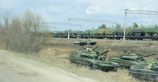 >In Russia, a Military Buildup That Can't Be Missed
